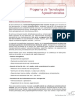 Programa de Tecnologias Agroalimentarias