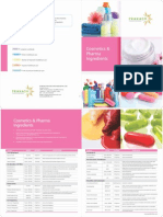 Cosmetics and Pharmaceutical Ingredients