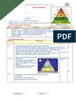 Secuencia Didáctica Los Alimentos Piramide Aip