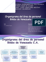 Organigrama General y de Personal Bimbo (1)