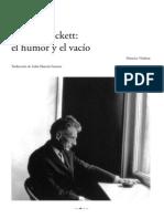 Maurice Nadeau - S. Beckett . el humor y el vacío.pdf