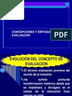Concepcion y Enfoques de La Evaluacion (1)