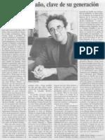 Adolfo García Ortega Sobre Bolaño