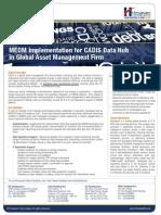 MEDM Implementation in Asset Management Firm
