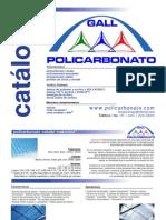 Catalogo Policarbonato