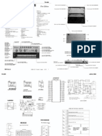 Roland TR-606 Service Notes