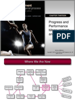 Progress & Performance Measurement & Evaluation