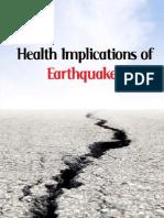 Health Implications of Earthquakes