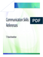 Comskills References