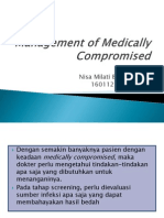 Management of Medically Compromised