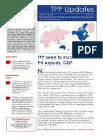May Trans-Pacific Partnership Updates