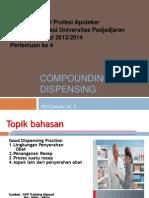2013- 04 C & D Good Dispensing Practice