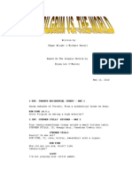 Scott Pilgrim vs the World Script