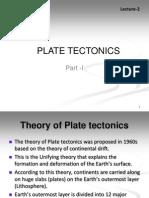 Lecture2 Plate Tectonics Part 1