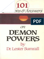 101 Questions and Answers on Demon Power - Lester Sumrall