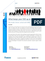 What keeps your CEO up at night? The insider threat
