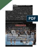 Propuesta de Entrenamiento de Balance Defensivo. Jordi Ribera