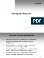 Lecture9 Earthquake Hazards