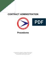 Contract Admin Procedures