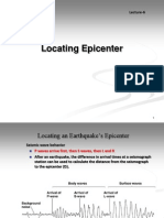 Lecture6 Locating Epicenter