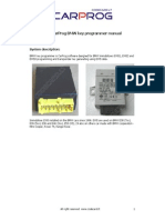 CARPROG BMW Key Programmer Manual