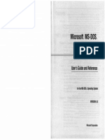 MS-DOS 5.0 User Guide and Reference