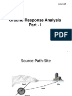 Lecture25 Ground Response Analysis Part1