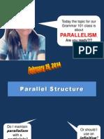 Educ. Training Parallelism