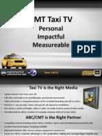 Taxi TV Brochure