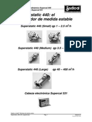 supercal 431 инструкция