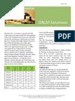 DBLM Solutions Carbon Newsletter 10 April 2014