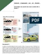 EC3 - Réglementation Des Taxis Et Situation Sous-optimale