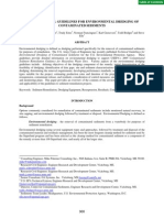 USACE Technical Guidelines for Environmental Dredging of Contaminated Sediments