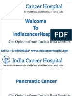 How To Get Pancreatic Cancer Treatment in India | Call On +91-9899993637