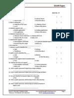 21st Selenium Exam Paper