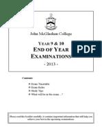 Yr_9__10_Exam_booklet_2013
