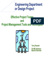 Effective Teamwork and Project Management Tools
