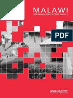 MALAWI Urban Housing Sector Profile