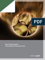 Gas Transmision Code