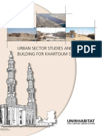 Urban Sector Studies and Capacity Building for Khartoum State