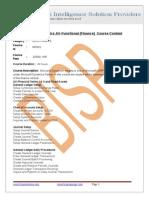 Microsoft Dynamics AX-Functional(Finance)