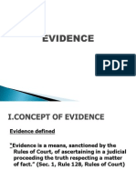 Evidence Justice Ingles