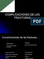 Huesos - Fracturas - Complicaciones