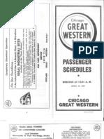 CGW Public Timetable Apr 29 1962