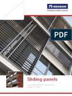 Renson Sliding Panels