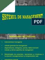 4 Sistemul de Management
