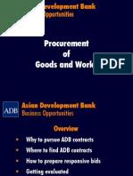 3 Procurement of Goods & Services - Bernhard Zentgraf
