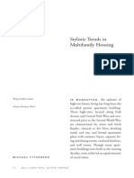 2008 Fall Stylistic Trends in Multi Family Housing