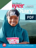 AIM's Prayer Diary | July-September 2014