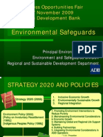 ADB General - 2 Environment Safeguards - Masami Tsuji